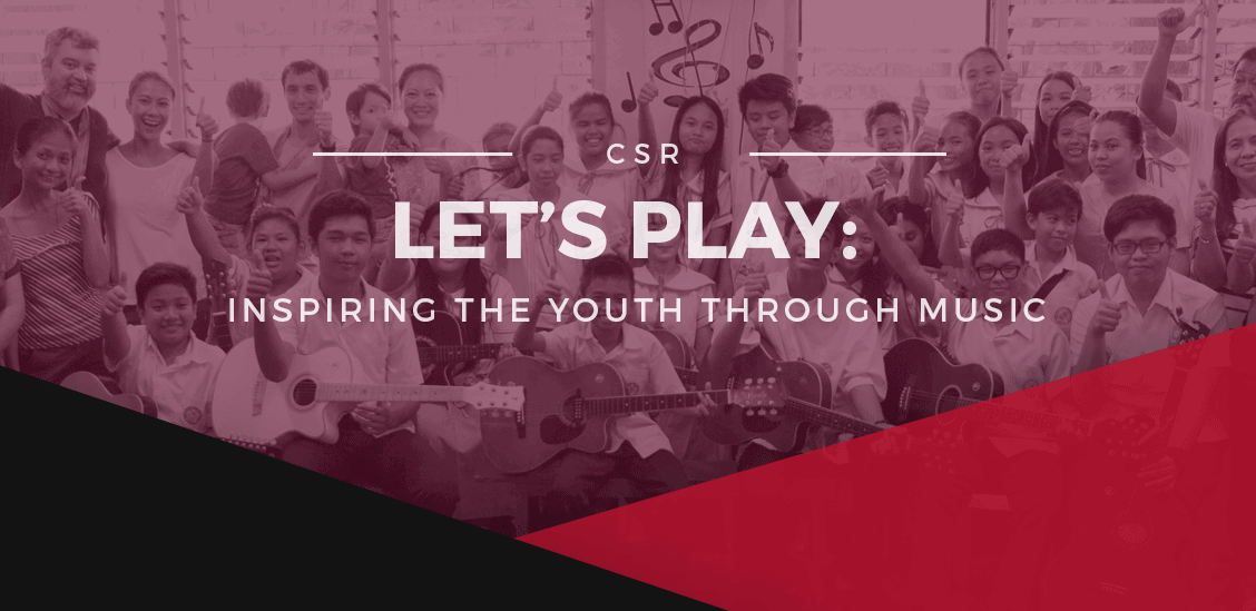 Booth & Partners shows its support to Let's Play - The Fundraising Programme that's Changing Music Education in Malabon