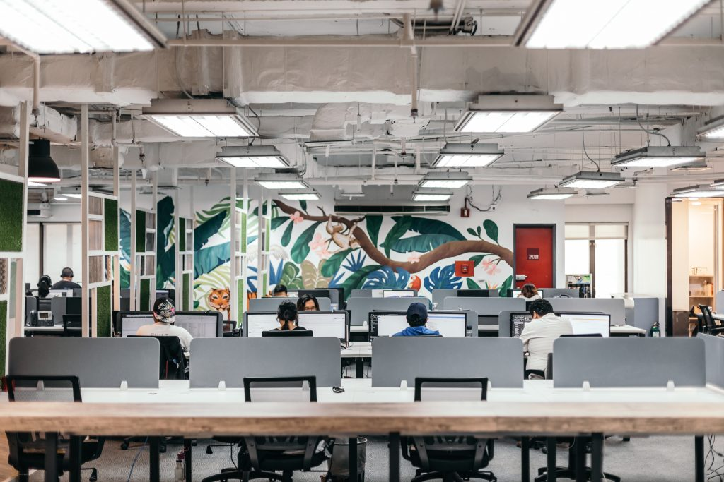 Booth and Partners Open Workspace