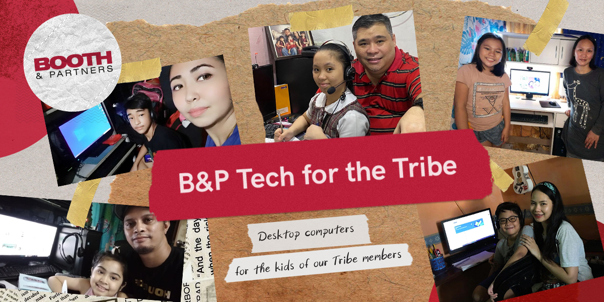 B&P' Tech for the Tribe: Community Support by repurposing technology