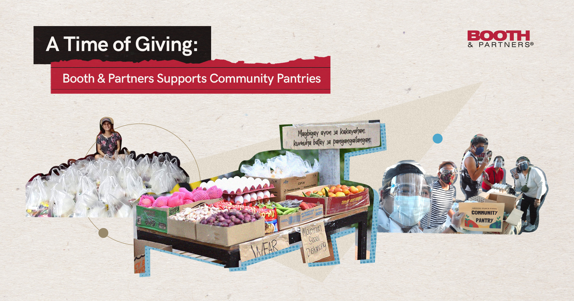 A Time of Giving: Booth & Partners Supports Community Pantries